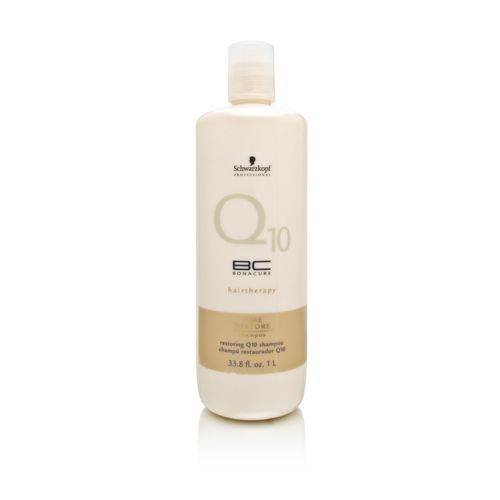 Schwarzkopf Bonacure Q10+ Time Restore Shampoo 1000 ml, 1er Pack (1 x 1 l)