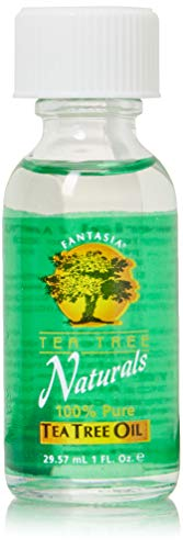 Price comparison product image Fantasia Tea Tree Naturals 100% Pure Tea Tree Oil 1 Oz