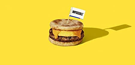 Impossible Foods Plant Based Sausage Patties 5 lb (Pack of 2)
