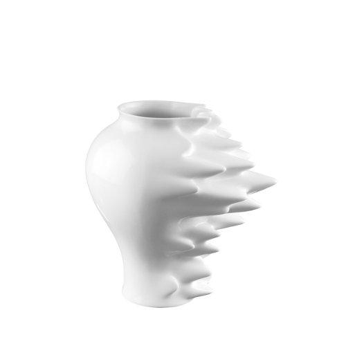 Rosenthal - Vase - Fast - 27 cm - Designvase - Porzellan - Weiß