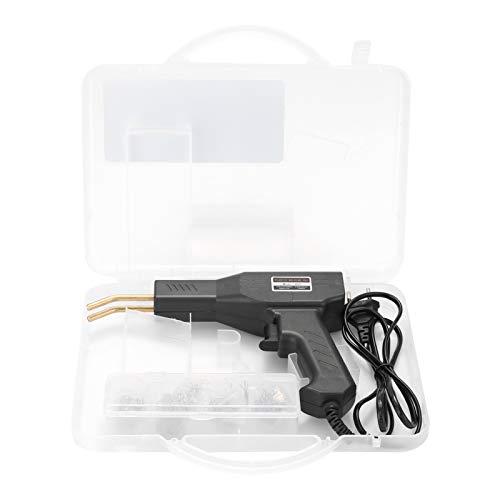 KKmoon Pistola Saldatrice, Saldatrice di Plastica Calda da 50W Kit di Riparazione Paraurti per Auto Saldatura Riparazione Macchina Saldatore Pistola Riparazione, nero