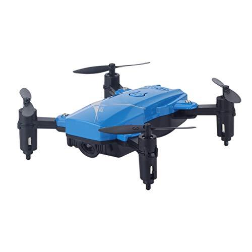 sharprepublic 2MP / 0.3MP Cámara 2.4G RC Quadcopter Drone Drone De Grabación De Video Plegable - Cámara 0.3MP Azul