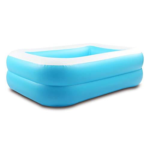 DFSDG Piscina inflable para niños, piscina de agua para bebé, centro de bañera para uso al aire libre, PVC, respetuoso con el medio ambiente, juguetes de verano (color: estilo 1)