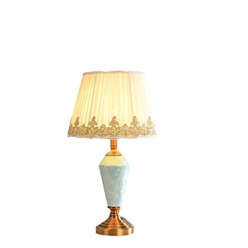 Lampe de table en céramique salon chambre lampe de chevet