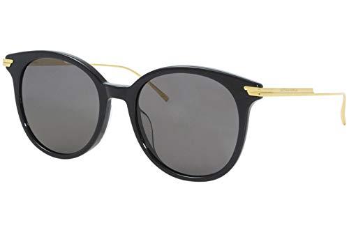 Bottega Veneta gafas de sol BV1038SA 001 Negro gris tamaño de 54 mm de Mujer