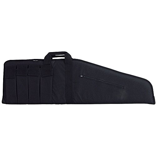 Bulldog Cases Extreme Tactical Black Rifle Case with Black Trim (35-Inch) (BD422)