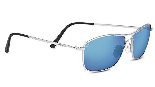 Serengeti Eyewear Sonnenbrille Corleone, Shiny Titanium/Polarized, 8418