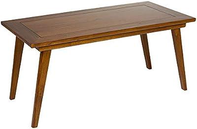 Apalis Mesa de diseño Shabby Concrete Look 55x55x45cm, Tabla de ...