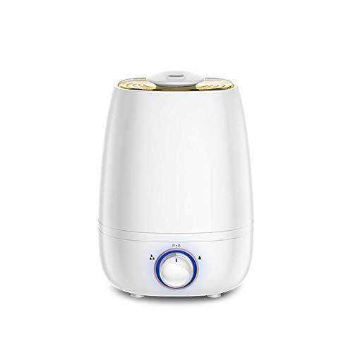 XSWZAQ Inicio ultrasónico humidificador de vapor frío con Easy-Clean 4.5 litros del tanque de agua, niebla Configuración variable, cierre automático y un funcionamiento ultra silencioso for el bebé Nu