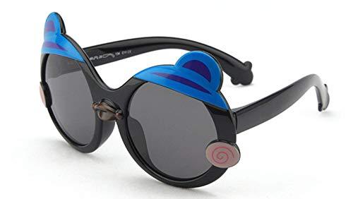 Pteng PersonalityKids Gafas de sol polarizadas, marco flexible de goma para niños y niñas de 3 a 12 años, gafas de protección 100% UV