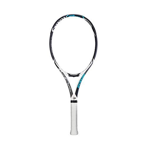 DUNLOP Tennisschläger Srixon Revo CV 5.0, Unisex-Erwachsene, Revo CV 5.0, Weiß/Schwarz/Blau, 4 3/8