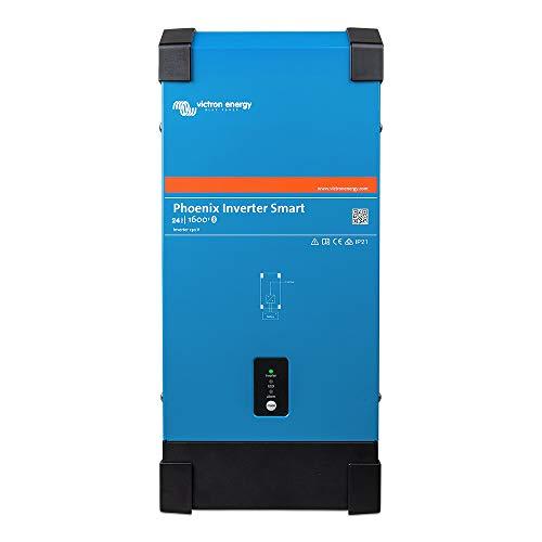 Victron Phoenix Smart 24/1600 - Inversor de corriente (24 V, 230 V, 1300 W, Ve.Direct Bluetooth integrado)
