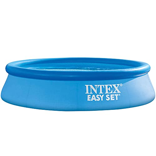 Intex Easy Set-Piscina Hinchable, Octogonal, 305 x 76 cm, 3.853 l