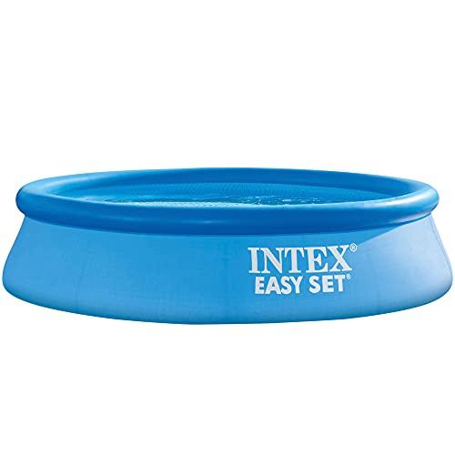 Intex Easy Set-Piscina Hinchable, Octogonal, 305 x 76 cm, 3.853 l
