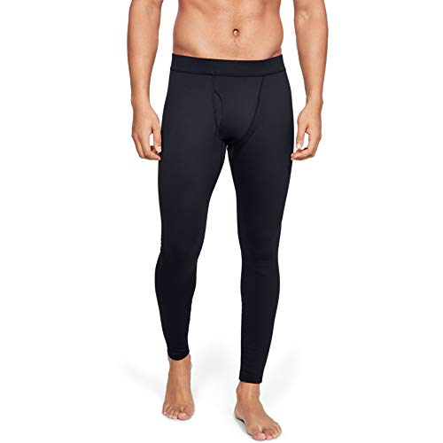 Under Armour Men's Packaged Base 3.0 Leggings , Black (001)/Pitch Gray , Large