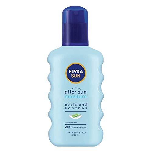 Nivea Sun Moisturising Soothing Spray After Sun Moisture with Aloe Vera, 200 ml