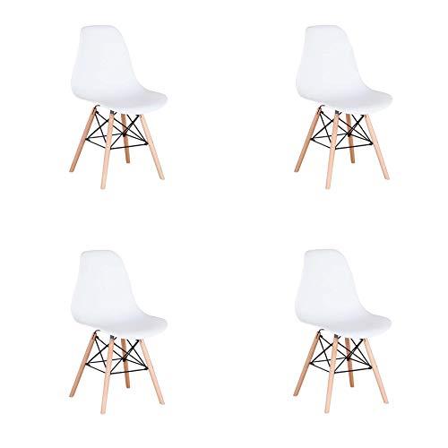 GrandCA Conjunto de 4 sillas, sillas de Comedor Silla de Ofi