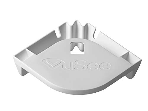 Vusee, Mensola universale per baby monitor, Bianco (blanc)