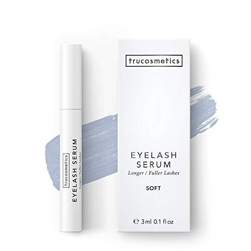 trucosmetics - EYELASH SERUM SOFT | Wimpernserum ohne Prostaglandin-Derivat| lange und dichte Wimpern | 3 ml