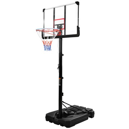 Basquetbol de baloncesto sistema de ajuste de altura, luces LED de baloncesto, impermeables, superbrillantes para jugar por la noche al aire libre
