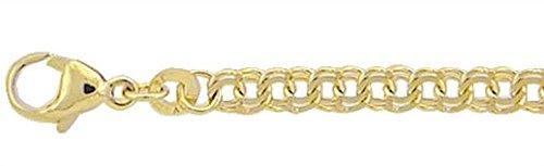 Gold Armband 8 k 333 Gelbgold Garibaldi Kette 18.5 cm