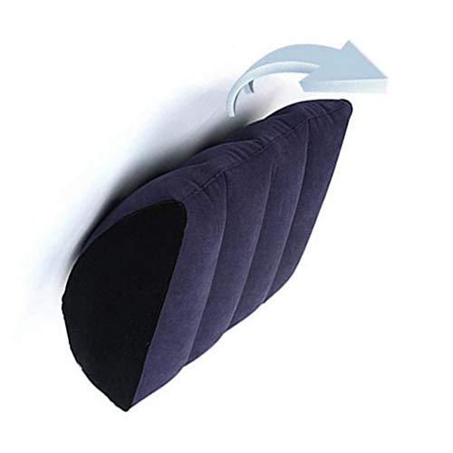 Flocado De PVC Almohada Inflable para Reposapiernas, Adultos Que Duermen Lado Piernas Cama Y Soporte Lumbar Apoyo ZSYJLYQ-002