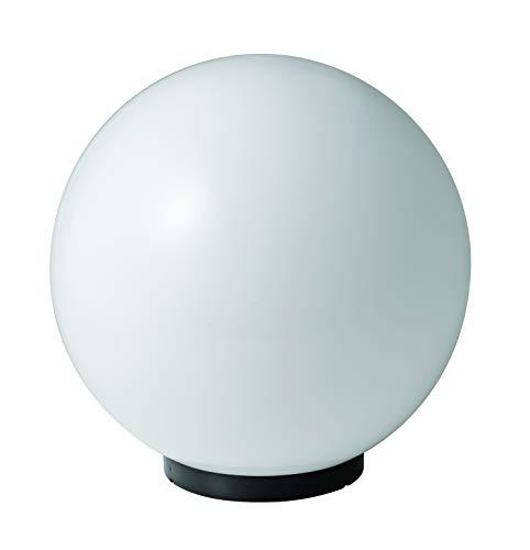 Mareco Luce 1080301B Lampada Sfera Lampione in acrilico Bianco 75W Attacco E27 Diametro 30 cm