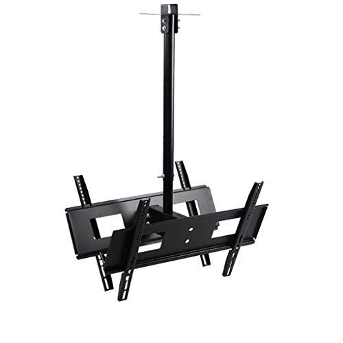 """RENSLAT Standard VESA Universale 26""""-55"""" Pollici Doppio Monitor per PC Staffa TV LCD Supporto telescopico carico Massimo 50 kg"""
