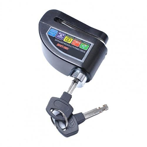 Cerradura de freno conveniente universal, alarma de alta definición de aleación de aplicaciones de aleación de Aleación de Aleación de Aleación de Aleación de Aleación para Accesorios de Motocicleta