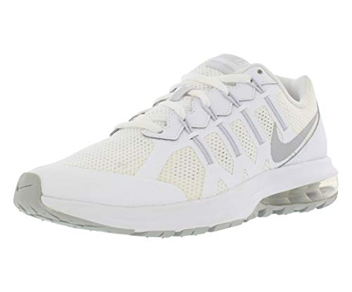 Nike Air Max Dynasty (GS) - Scarpe da Corsa, Uomo, Colore Bianco (White/Metallic Silver-Pure Platinum), Taglia 39