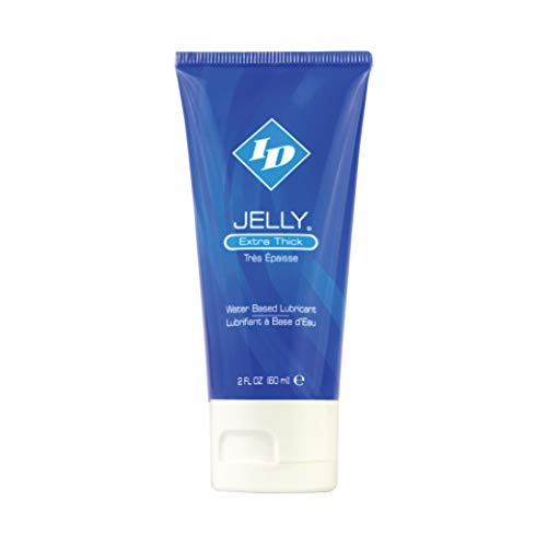 ID Jelly Personal Lubricant - Extra Thick Gel, Water Based Lube, 2 Fl Oz