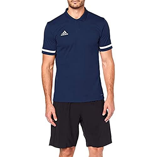 adidas Herren T19 M Polo Shirt, Team Navy Blue/White, 2XL