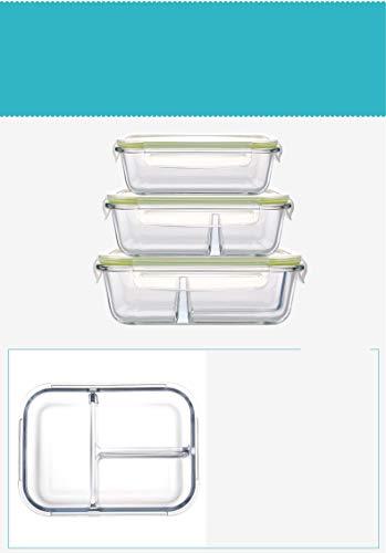 Yvon fiambreras nelee Cristal Lunch Box 100% Sin BPA Resistente al ...