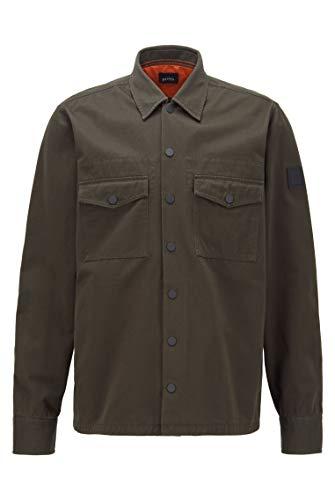 BOSS Herren Lovel_4 Shirt, Open Green (346), M EU