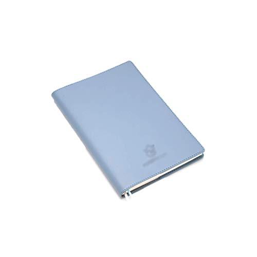 NZKW Bloc de Notas PU A5 Notebook Exquisite Journal Lovely Soft Leather Travellers Bullet Premium Faux Leather Funda Suave para Mujeres, Hombres, niñas, Almohadillas de Mensajes (Color: