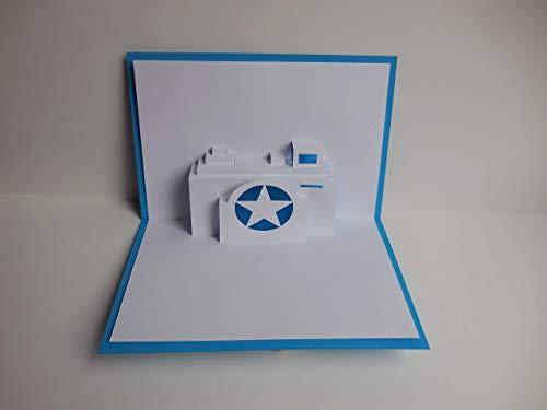Pop up Karte - Kamera - Fotoapperat