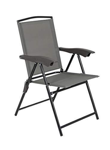 Bo-Camp klapstoel, grijs