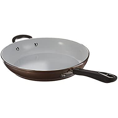 Cuisinart 5922-30HCH Open Skillet with Helper Handle, 12 , Champagne