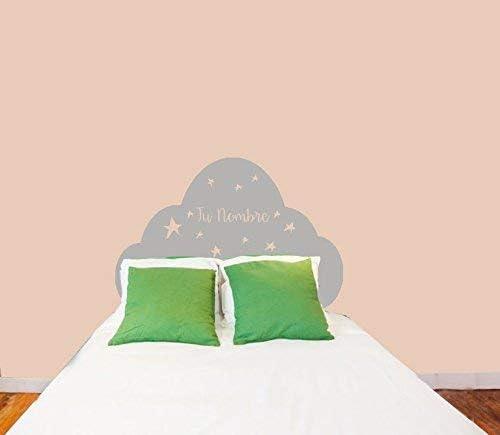 Vinilo Pared cabecero cama decorativo con