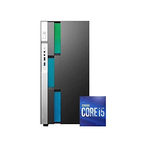 Pc desktop Intel i5 10400 Fino 4.30Ghz pc ufficio completo,Ram 8gb,Ssd NVME 500 Gb,Pc fisso Computer Windows 10 assemblato Open Office Pc desktop ssd M.2