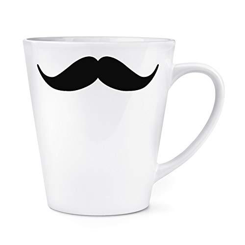 Lenker Schnurrbart 12oz Latte Becher Tasse