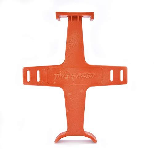 Pro Carken Spanngurte für Motocross Dirt Bike Gabel Saver Radunterstützung Federung Orange 26,5-1/2 Zoll