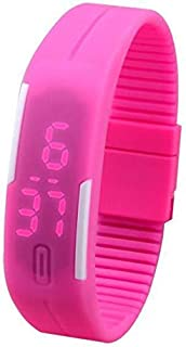 Silicone Strap Watch For Unisex- Digital, Casual