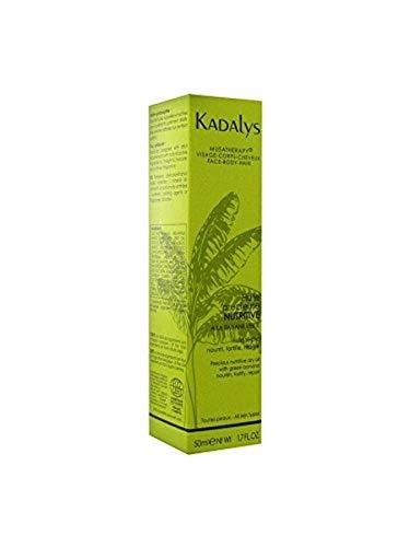 Huile Précieuse Nutritive BIO Kadalys - 100% Origine Naturelle - A La Banane Verte - Formule Vegan Made In France - 50mL