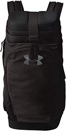 Under Armour UA Own The Gym Duffel Bolsa Deportiva, Unisex Adulto, Negro Black/Jet Gray 001, Talla única