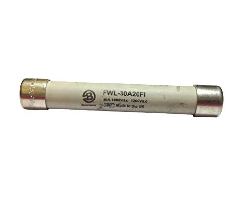 FWL-30A20FI | BUSSMANN 30A 1200V TRACTION FUSE WITH INDICATOR - High Speed -Traction division