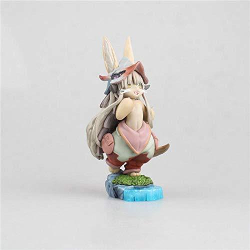 Factorydiy Figuras Anime Baratas Anime Made In Abyss Nanaqi Beast Girl Muñeca Decoración Alto Aproximadamente 14 CM de Juguetes para Regalo de Amigo