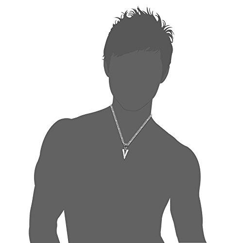 """Besteel Jewelry Stainless Steel Arrowhead Pendant Necklace for Men Biker Punk 24"""" Chain"""