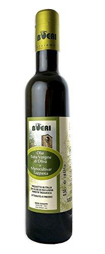 100{00daf2eb20ff8f9d9f7a6b9e3c2607b5a844141ff2dfe677e0852ab69e19669c} Taggiasca Olivenöl Extra vergine Monocultivar Ligure 0,5L, Premium Qualität