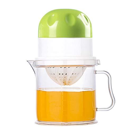 NBSY Exprimidor de limón, exprimidor lento, licuadora de frutas, exprimidor de cítricos. Dos métodos de exprimir, adecuado para frutas suaves y jugosas (naranja/limón/sandía/uva).